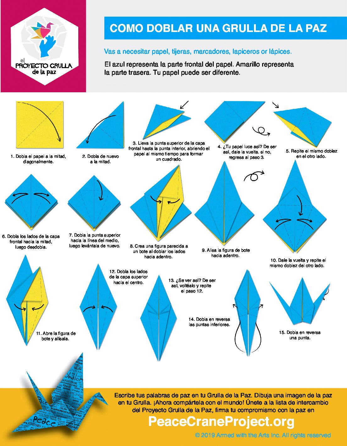 How To Make A Flapping Bird Origami How To Make A Paper Bird That ... | 1421x1104